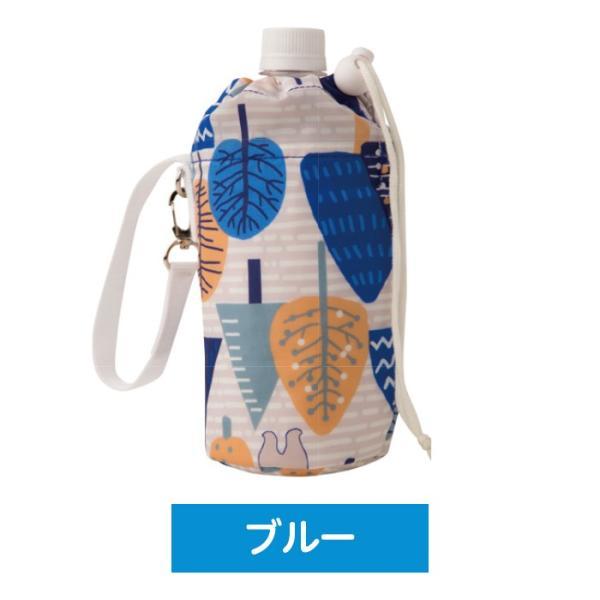 500ml用 ペットボトルカバー ペットボトルケース 保冷専用  軽量 アルミポケット ストラップ付 保冷剤2個付|wonderfuroom|06