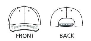 帽子/キャップ/作業帽子/作業用/作業服/作業着/リーズナブルキャップ ポリエステル65%・綿35%(bo-MC6617)(商品画像)
