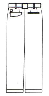 作業服 作業着 春夏 5IVEスタースラックス パンツ ポリエステル65%・綿35%(co-A-4453)(商品画像)