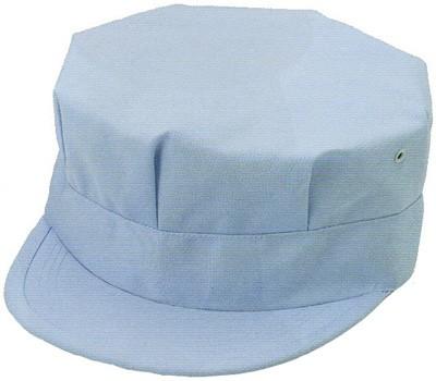 帽子 作業帽 作業用 作業服 作業着 バイヤスエン八方型 八角帽 再生ポリエステル65%・綿35%(ra-1030eco)(商品画像)
