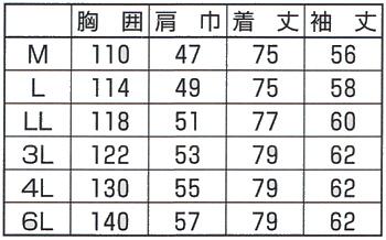 作業服 作業着 春夏 長袖 シャツ ユニフォーム 吸汗速乾 ポリエステル65%・綿35%(so-195)(サイズ)