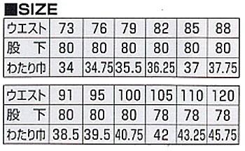 作業服 作業着 春夏 1Pスラックス パンツ ツータック ポリエステル65%・綿35%(so-199)(サイズ)