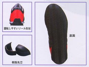 安全靴/作業靴/ジーベック/XEBEC/セフティシューズ/角田信朗/作業服/作業着 甲被:合成皮革(xe-85188)(商品画像)