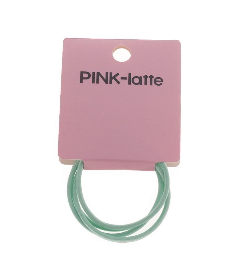 PINK-latte(ピンク ラテ)通販 ヘアゴム5本SET(ライトグリーン(021))
