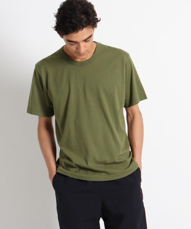 OPAQUE.CLIP(オペークドットクリップ)通販 UPCYCLE Tシャツ(ダークグリーン(023))
