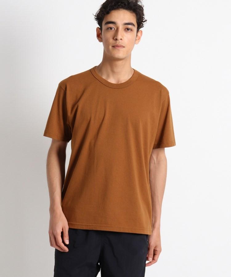 OPAQUE.CLIP(オペークドットクリップ)通販 UPCYCLE Tシャツ(タバコブラウン(054))