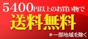 送料5,400円以上送料無料