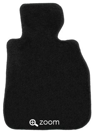 フロアマット『ブラック(黒色)』 ※画像のマットは、サンプルマットです。実際のマットは、お車に合った形となります。