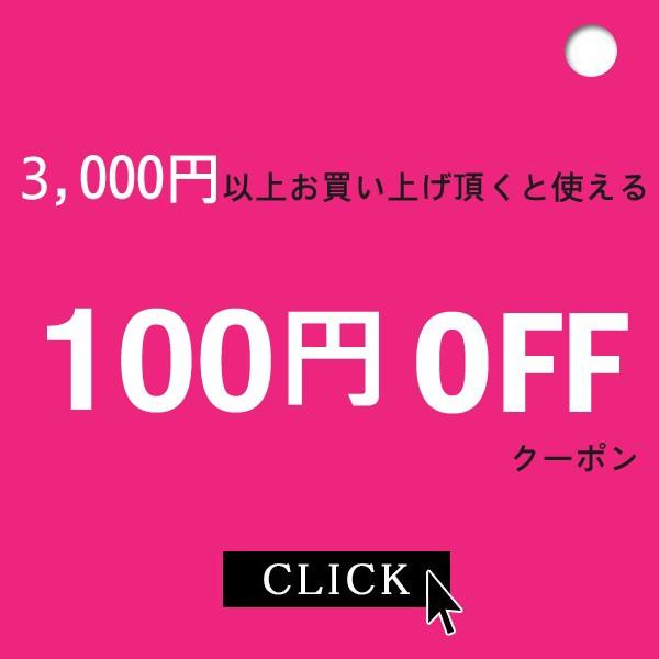 期間限定★店内商品を【3,000円以上購入で100円OFF】