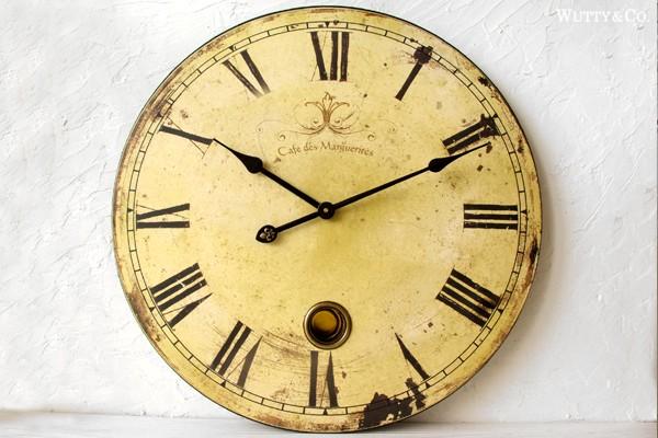 アンティーク調掛け時計|【インテリア雑貨】