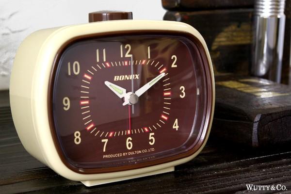 ダルトンのレトロな置き時計|【インテリア雑貨】