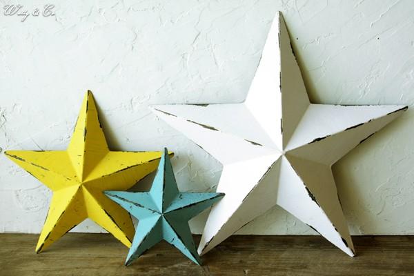 星型の壁飾り|【アイアン雑貨】