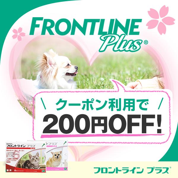 【1,000枚限定】フロントライン対象商品200円OFF