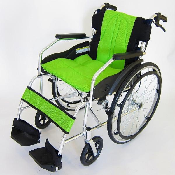 車椅子 軽量 折りたたみ カドクラ チャップス オーシャンブルー A101-AB 自走用 自走介助兼用 送料無料 全10色 kadokura|xenashopping|26