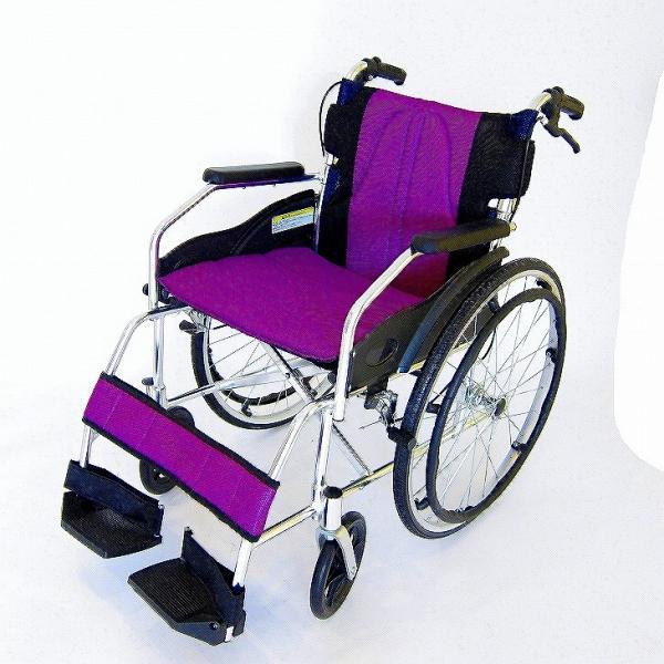 車椅子 軽量 折りたたみ カドクラ チャップス オーシャンブルー A101-AB 自走用 自走介助兼用 送料無料 全10色 kadokura|xenashopping|28