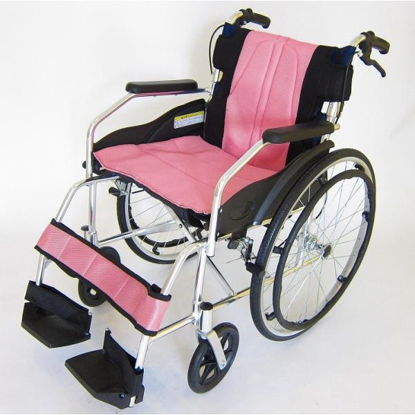 車椅子 軽量 折りたたみ カドクラ チャップス オーシャンブルー A101-AB 自走用 自走介助兼用 送料無料 全10色 kadokura|xenashopping|29