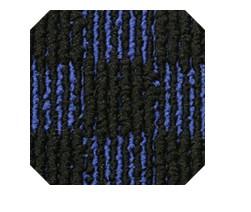 ループチェック青黒