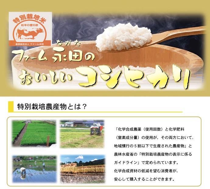 ファーム永田のおいしいコシヒカリ