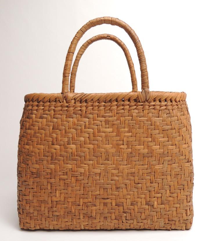 山ぶどう製 カゴバッグ・中 30×11.5×24.5cm