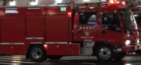 消防自動車 所属部隊 表示 無機ELシート