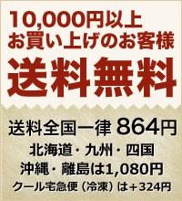 配送料864円(北海道、九州、四国、沖縄、離島は1,080円)