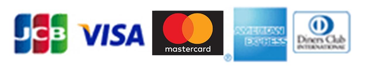 お支払い可能カード