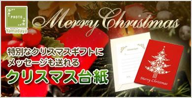 クリスマスの写真台紙
