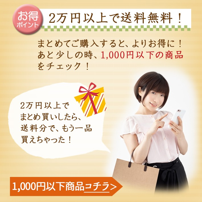 2万円送料無料