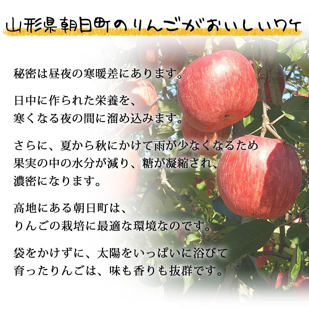 朝日町のりんごが美味しいわけ