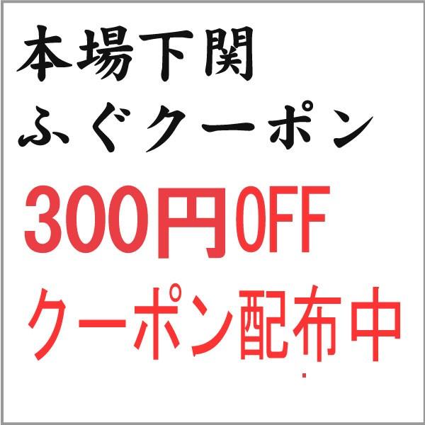 【300円OFF】本場下関ふぐクーポン