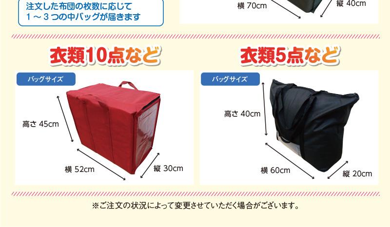 袋のサイズ