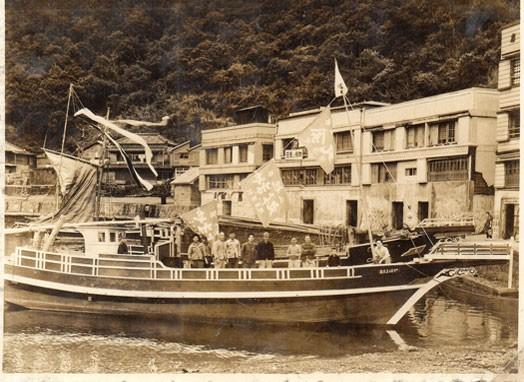先代の漁船