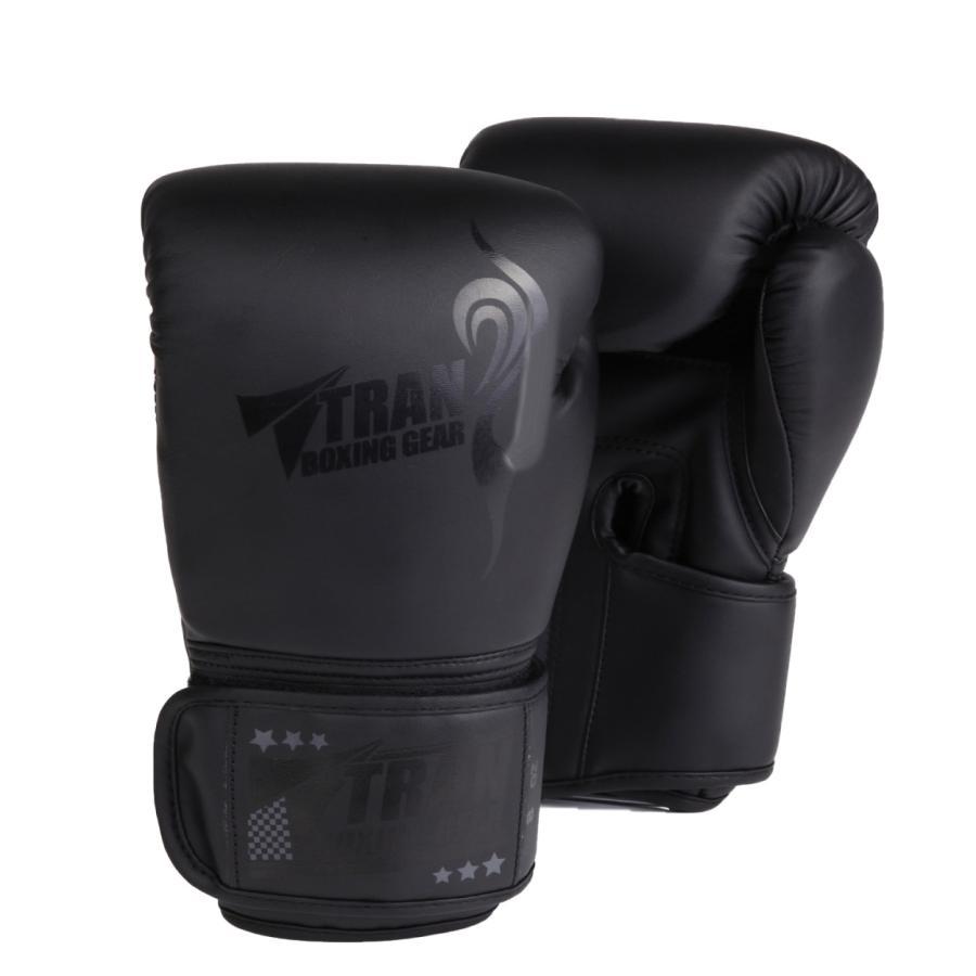 ボクシンググローブ トレーニング グローブ パンチンググローブ  8oz 10oz 12oz 14oz TRAN キック ボクシング 格闘技 空手 テコンドー フィット 黒 白 ゴールド|yanecia|12
