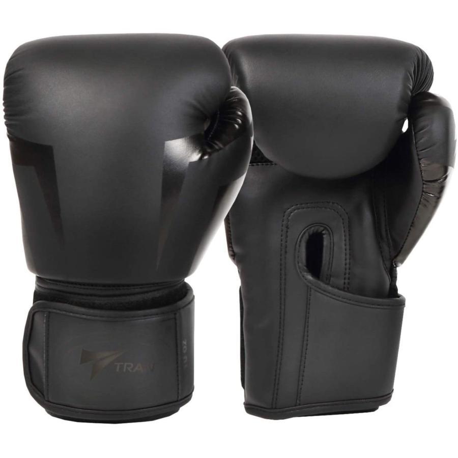 ボクシンググローブ トレーニング グローブ パンチンググローブ  8oz 10oz 12oz 14oz TRAN キック ボクシング 格闘技 空手 テコンドー フィット 黒 白 ゴールド|yanecia|08