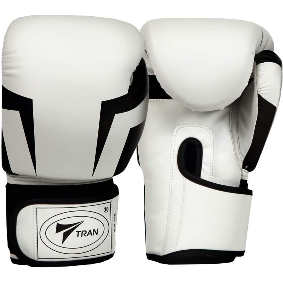 ボクシンググローブ トレーニング グローブ パンチンググローブ  8oz 10oz 12oz 14oz TRAN キック ボクシング 格闘技 空手 テコンドー フィット 黒 白 ゴールド|yanecia|11