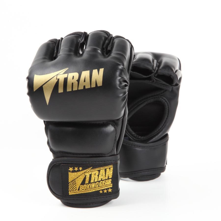 オープンフィンガーグローブ トレーニング グローブ パンチンググローブ  TRAN 総合 格闘技 フィットネス ボクシング グローブ キック ボクシング ジム yanecia 11