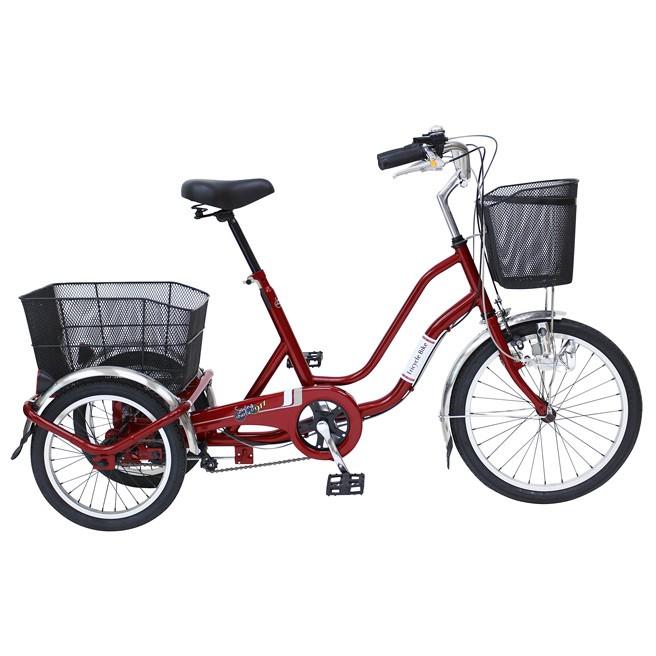 ノーパンク 三輪自転車 MIMUGO MG-TRW20NE SWING CHARLIE 自転車