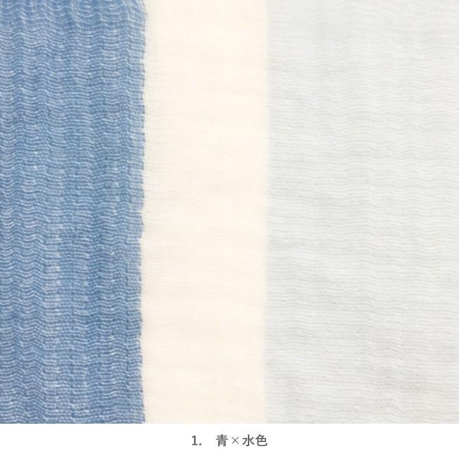 タオルマフラー 今治 タオル ギフト  ガーゼ おしゃれ ラインカラー マフラータオル 綿100% 日本製 ポイント消化|yasashii-kurashi|13