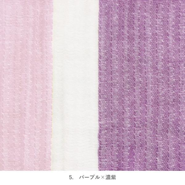 今治タオル タオルマフラー おしゃれ ラインカラーマフラー ガーゼタオルマフラー 綿100% 日本製|yasashii-kurashi|15