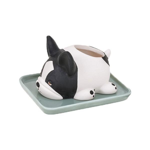 加湿器 おしゃれ 気化式 手入れ簡単 寝室 陶器 素焼き かわいい 動物 ねむねむアニマルズ|yasashii-kurashi|22