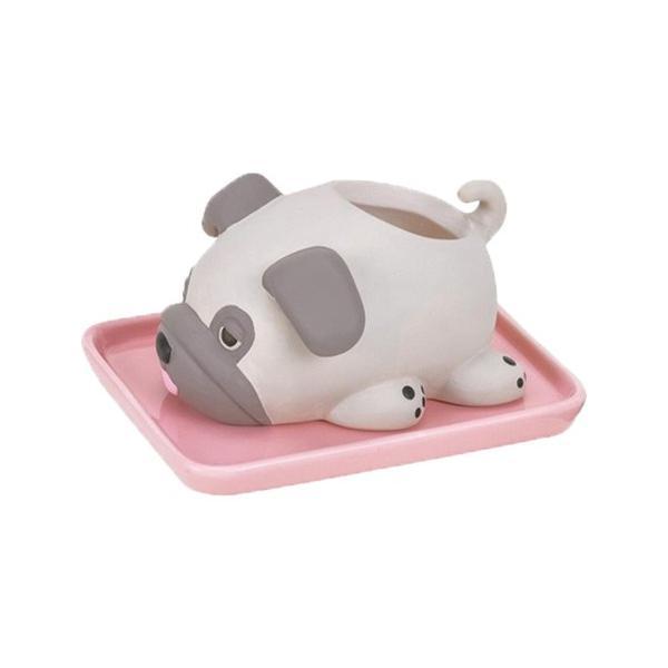 加湿器 おしゃれ 気化式 手入れ簡単 寝室 陶器 素焼き かわいい 動物 ねむねむアニマルズ|yasashii-kurashi|19