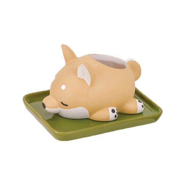 加湿器 おしゃれ 気化式 手入れ簡単 寝室 陶器 素焼き かわいい 動物 ねむねむアニマルズ|yasashii-kurashi|20