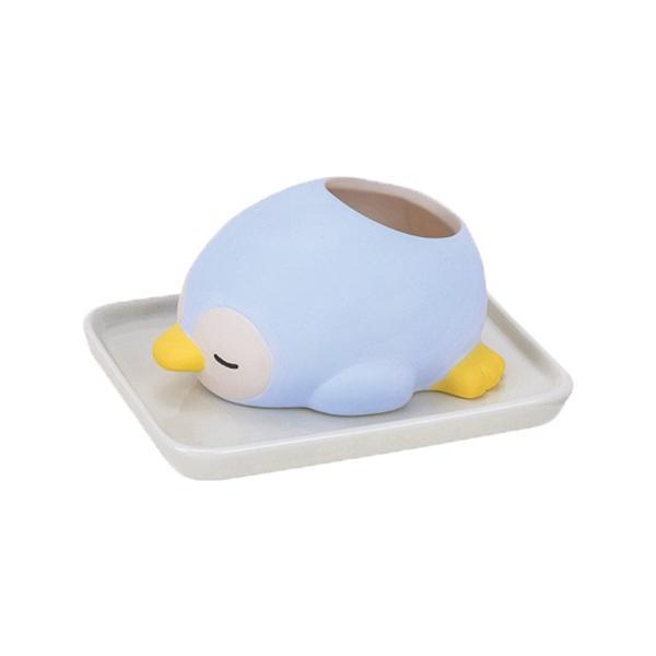 加湿器 おしゃれ 気化式 手入れ簡単 寝室 陶器 素焼き かわいい 動物 ねむねむアニマルズ|yasashii-kurashi|21