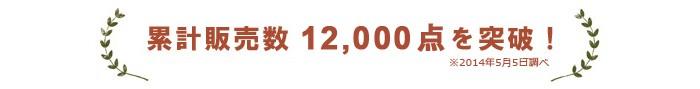 累計販売数12,000点を突破。