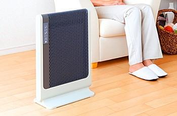 スリム&コンパクト遠赤外線暖房機 アーバンホットスリム イメージ