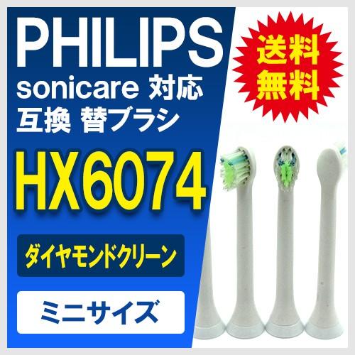 フィリップスソニーケアー替えブラシHX6074