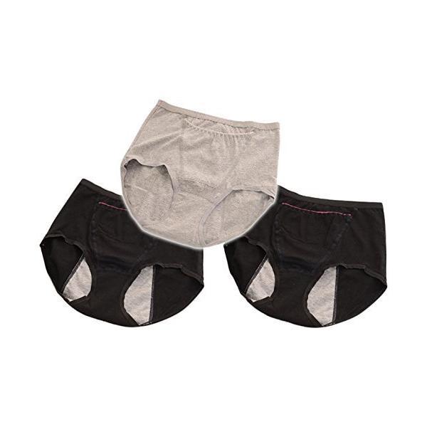 サニタリーショーツ ポケット付き 生理用ショーツ 防水 大きいサイズ ジュニア用 3枚 yasuizemart 17