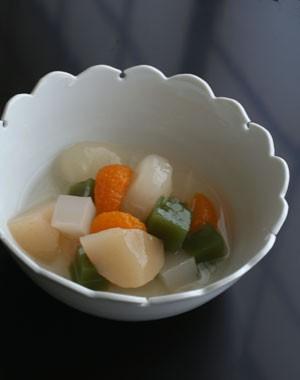 雪輪小鉢(広)・古川章蔵