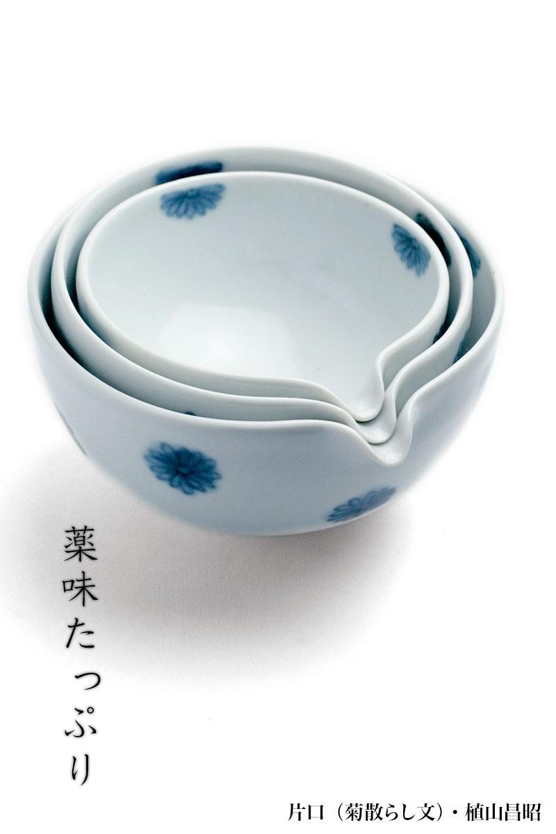 片口(菊散らし文)・植山昌昭