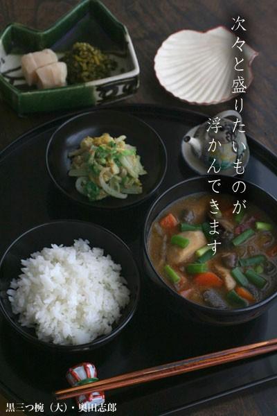 【一汁一菜】たぬき汁(小芋、人参、さつまいも、椎茸、牛蒡、葱、こんにゃく)